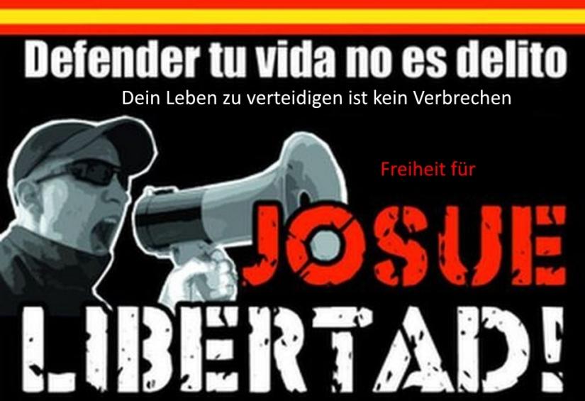 Freiheit für Josué Estebanez de la Hija –unvergessen!!!